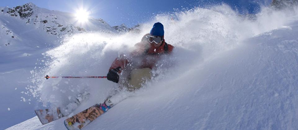 Scia in piena libertà con i materiali di RentAndTest